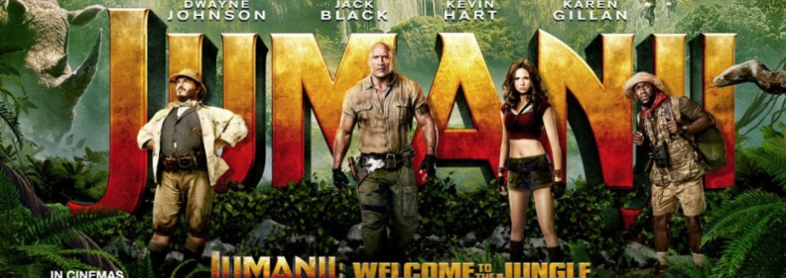 Jumanji Welcome To The Jungle 2017 Film Review The Life Of Sophie
