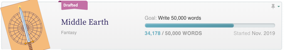 nanowrimo Sophie's project